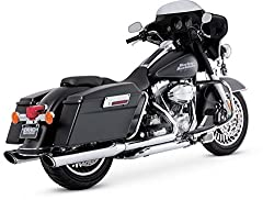 best sounding slip on mufflers for Harley Touring From V&H