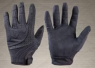 TurtleSkin Bravo Law Enforcement Gloves - Needle Resistant Gloves - Puncture Resistant Gloves (X-Large, Black)