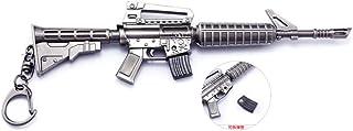 Juegos Metal 1/6 M4 Assault Rifle Gun Modelo Acción Figura Arte Juguetes Colección Llavero Regalo