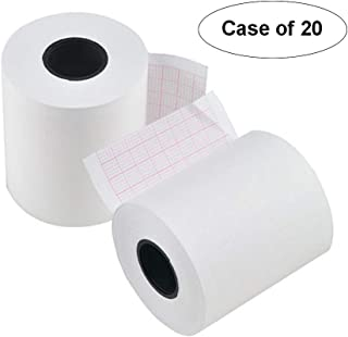 Case of 20,Thermal Printer Paper Roll for ECG EKG Electrocardiograp,Paper Roller (50mm20m,1 Channel)