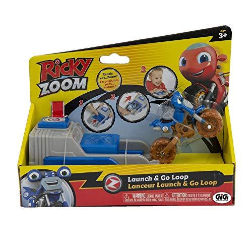 Giochi Preziosi- Ricky Zoom Vei C/Lanc Loop Giocattolo Prima Infanzia, RCY05300