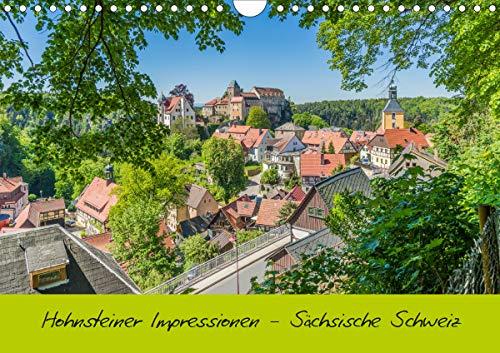 Hohnsteiner Impressionen - Sächsische Schweiz (Wandkalender 2021 DIN A4 quer)