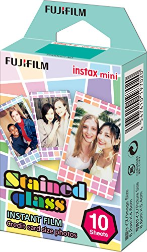 Fujifilm Instax Mini Stained Glass Film, 10 Stück