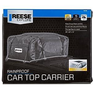 Reese Explore 1041100 Rainproof Car Top Carrier (15 Cubic Feet)