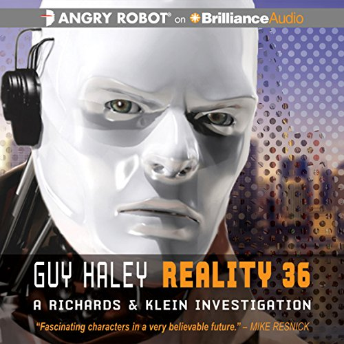 Reality 36 audiobook cover art