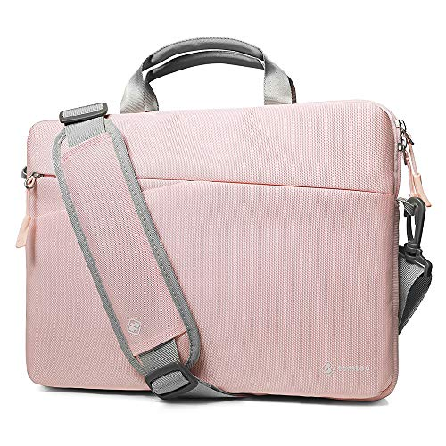 tomtoc 360° Protection Laptop Shoulder Sleeve for 13.3 Inch MacBook Air, MacBook Pro, 13.5 Inch Microsoft Surface Laptop, Surface Book, Dell XPS 13, 12.9 iPad Pro, Notebook Bag