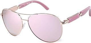 Aviator Sunglasses For Women Metal Frame Polarized Sunglasses