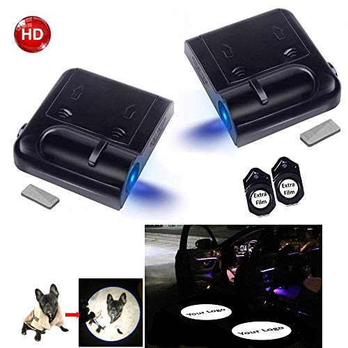 Custom Your Own Logo Image Customized Car Door Projector HD Courtesy LED Lights