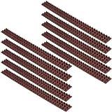 replood dissuasori a spillo spilli piccioni plastica per uccelli colombi volatili 10 strisce da 50 cm per un totale di 5 mt