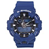 casio men's g shock ga700-2a blue resin japanese quartz diving watch
