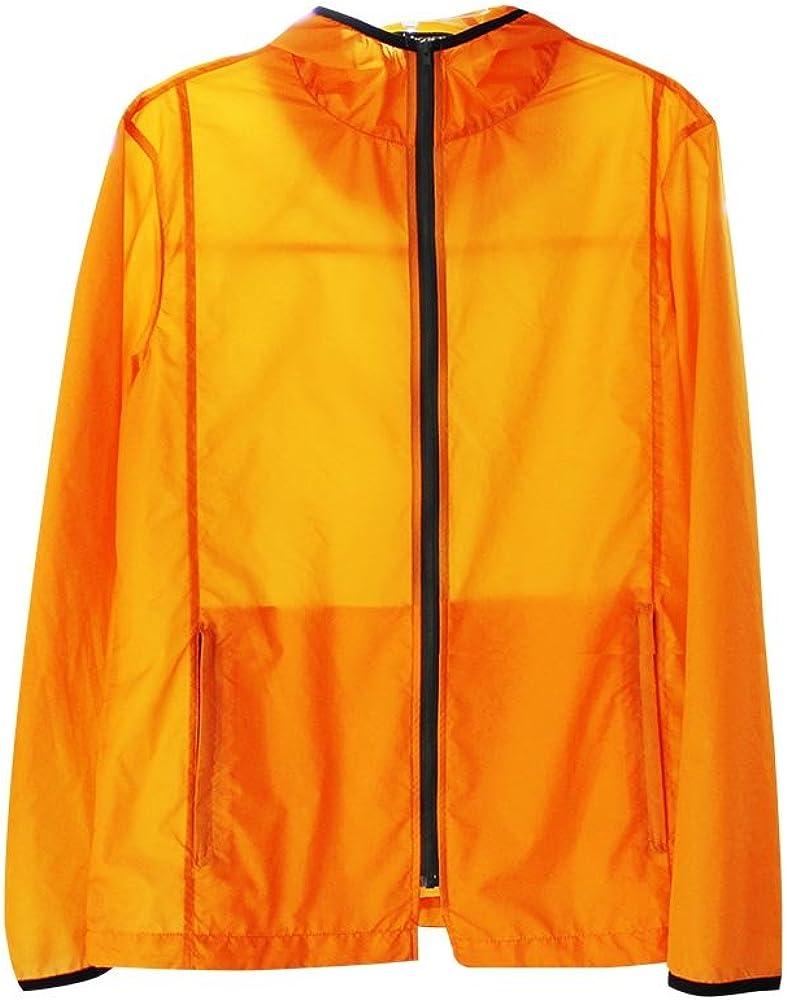 jxhracing CJ002B Ultrathin Jacket-Orange Anti-UV Fresno Save money Mall