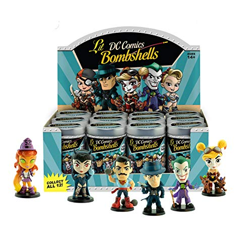Cryptozoic Entertainment DC Comics Lil Bombshells Blind Tins Vinyl Figures Series 3 Assortment 7 cm (12)