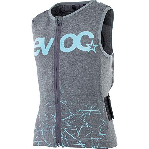 evoc Protector Vest Kids, Unisex niños, Carbon Gris, JL