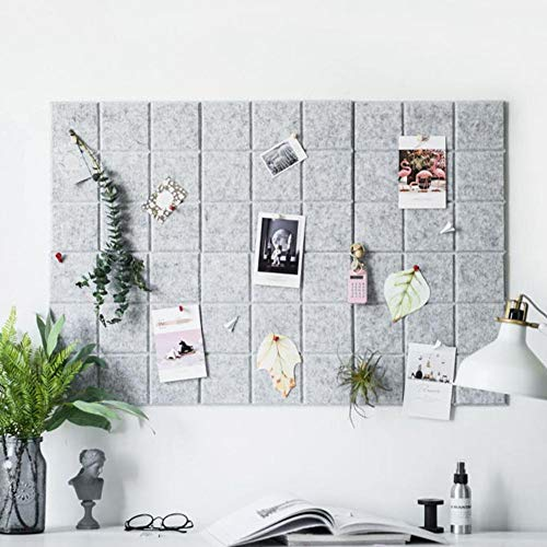 Grid Style Filz für die Wanddekoration,Awhao Innovative Letter Note Board Message Board Planer Schedule Board Foto Filz für die Wand Home Office Dekoration