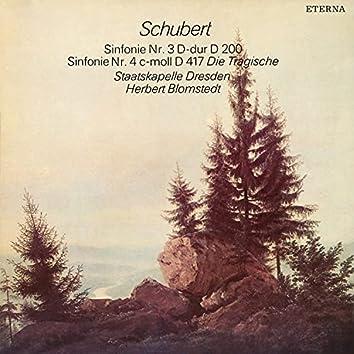 """Schubert: Sinfonien No. 3 & 4 """"Die Tragische"""""""