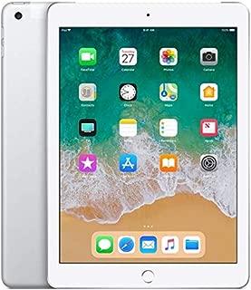 Apple iPad 9.7in 6th Generation WiFi + Cellular (32GB, Silver) (Renewed)