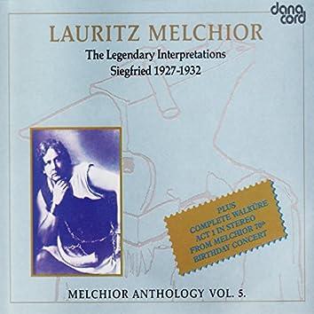 Lauritz Melchior Anthology Vol. 5