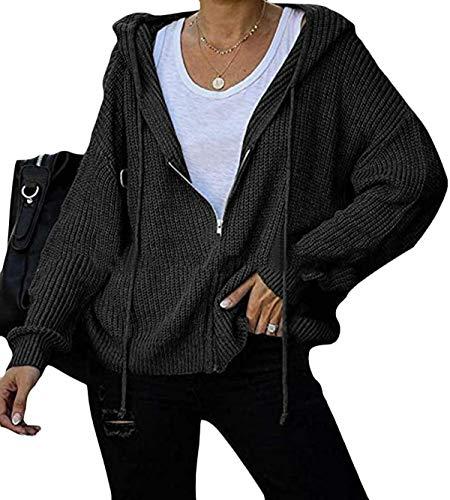 Marshall Darren Sudadera con capucha y cremallera para mujer