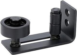 Homlux Heavy Duty Sliding Barn Door Floor Guide,Adjustable Roller,Wall Mount System,Flush Bottom Design,Floor and Door Panel Non-Damage(8 in 1)