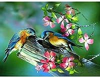 大人のパズルジグソー500ピース小枝2鳥ホームアールデコ絵画