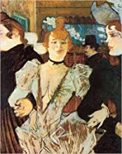 La Goulue Arriving at the Moulin Rouge with Two Women by Henri De Toulouse-Lautrec Art Print, Poster or Canvas
