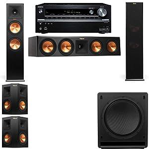 Show Klipsch RP-280F Tower Speakers-SW-112-5 1-Onkyo TX