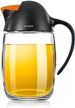 Olive Oil Dispenser Bottle with Automatic Cap 21oz Glass Oil and Vinegar Dispenser Bottle..