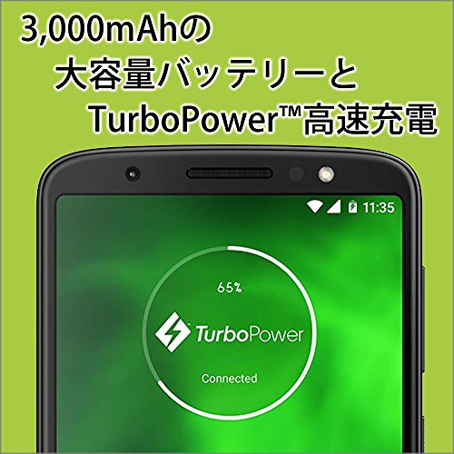 モトローラ Moto G6 ディープインディゴ 【日本正規代理店品】 PAAG0028JP/A