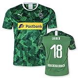 Puma BMG Borussia Mönchengladbach Erwachsene Trikot Third Europapokaltrikot 2019/20, Größe:L, Spielername:18 Lainer