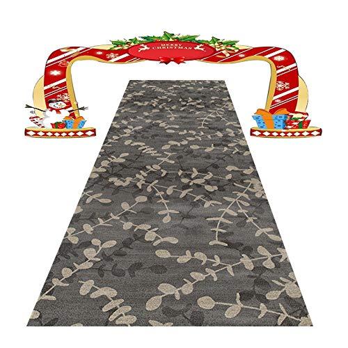 HAOXIANG Moderner Teppich-Teppichläufer Mit Rutschfestem Boden Für Küche, Schlafzimmerboden Usw. Mehrere Längen, Die Dicke Beträgt 0,6 cm, 1㎏ / ㎡,50x600cm/1.64x19.69ft