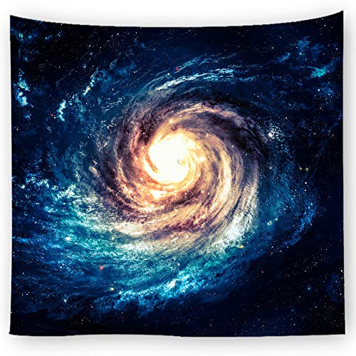 jtxqe dekorative Stoff kosmischen Druck Tapisserie 6 150X100cm
