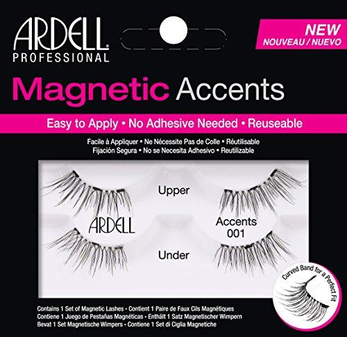 Ardell Ciglia Finte Magnetiche Accents 001 - 1 Paio, blk