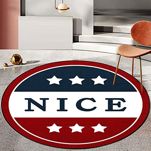 Nordic Geometric Circular Carpet Children'S Play Tent Gym Carpet Bedroom Living Room Coffee Table Floor Mat Crawling Carpet Christmas Decoration 40CM