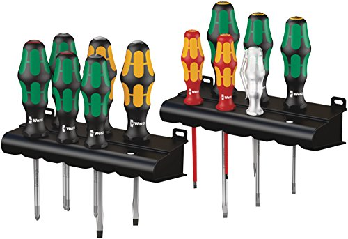 Wera 05051010001 Kraftform Screwdriver Set (12 Piece)