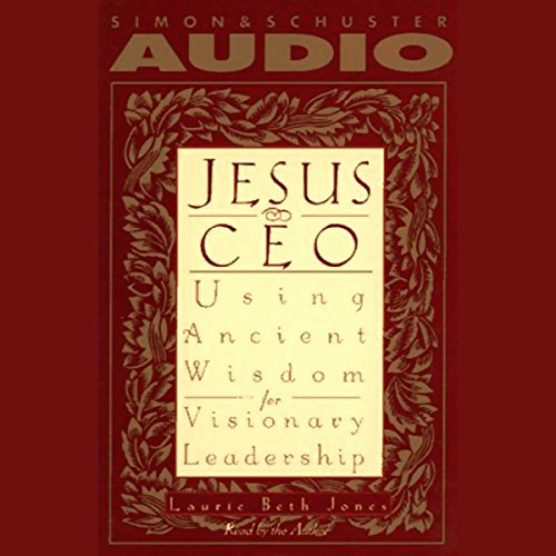 Jesus, CEO audiobook cover art