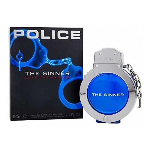 Nuovo da uomo Police The Sinner Eau de Toilette 50ml Profumo spray