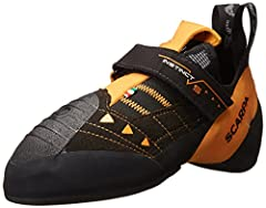 Highly charged Bi-Tension Active Randing provides maximum toe power Vibram XS Edge in forefoot provides incredible grip and durability Vibram XS Grip 2 makes heel hooking simple Mid length outsole construction Floating power strap enhances fit and pr...
