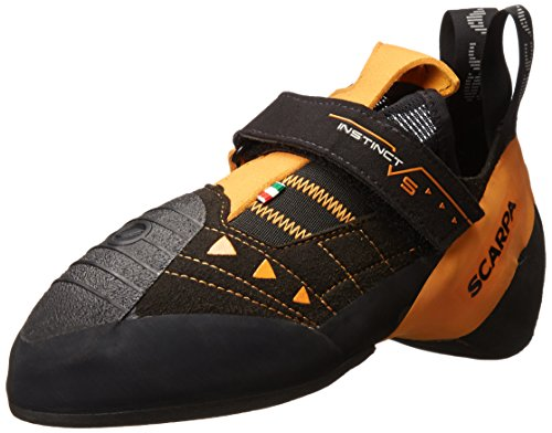 Scarpa Men's Instinct VS Climbing Shoe,Black,43 EU/10 M US