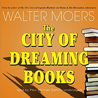The City of Dreaming Books audiobook cover art