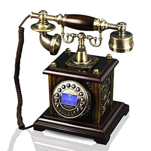 LDDZB Landline - Pantalla retroiluminada para teléfono fijo, estilo vintage, estilo vintage, estilo antiguo, para teléfono fijo, diseño de líneas fijas (tamaño: A) (tamaño : B) (tamaño: B)