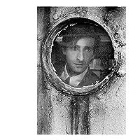 エイドリアンブロディ映画俳優ポスターとプリントキャンバス壁アート写真リビングルームの装飾ギフト-50x70cmフレームなし