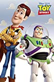 POSTER STOP ONLINE Toy Story - Disney / Pixar Movie Poster / Print (Buzz Lightyear & Woody) (Size 24' x 36')