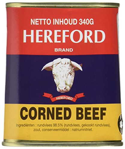Hereford Rindfleisch/corned beef, 12er Pack (12 x 340 g)