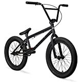 "Elite 20"" BMX Bicycle Destro Model Freestyle Bike (Black Grey)"
