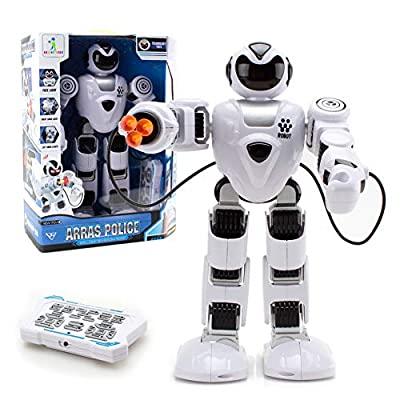 SOWOW WISHTIME Big Remote Control Robots for Kids - Infrared Control Toys Robot - Programmable Interactive Walking Singing for Kids Boy Girl