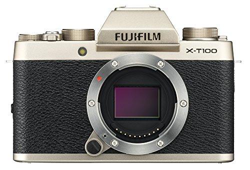 Fujifilm X-T100 Mirrorless Digital Camera,...