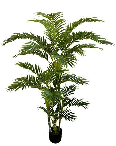 Seidenblumen Roß Arekapalme Deluxe 160cm DA Kunstpalmen künstliche Palmen Arecapalme Dekpalme