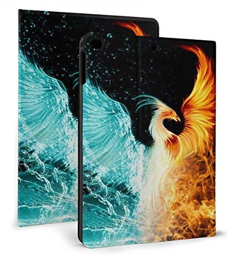 Fire Ice Phoenix PU Leather Smart Case Auto Sleep/Wake Feature for iPad Air 1/2 9.7' Case