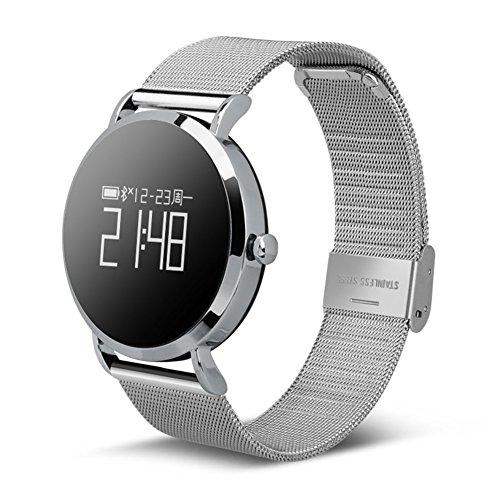 Männer und Frauen Smartwatches,Sportuhr Wasserdicht 30 m Leben Heart Blutdruckmessung Step Counter Handy-Verlust Lange Standby Bluetooth-Uhr Personalisieren-D