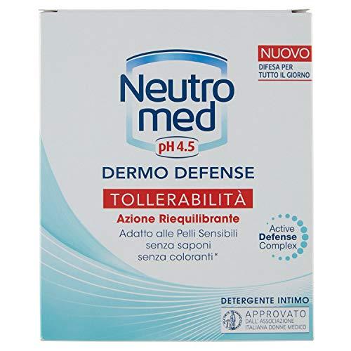 Neutromed - Detergente Intimo, Sensitive, Azione Protettiva, con 5 Ingredienti Dermo-Protettivi -...